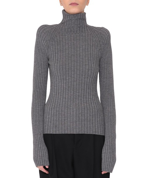 sweater turtleneck turtleneck sweater silk wool
