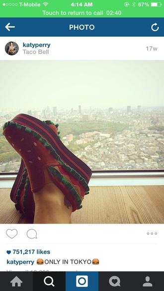 shoes hamburger funny