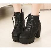 shoes,boots,heels,black,trendy,tumblr,zip,platform shoes,black boots heels,tumblr shoes,heel boots,cute,black heels,black boots,black shoes,goth,gotic,fashion,shorts,dress,top,crop tops,gotica shoes,black crop top,strappy,tumblr outfit,grunge