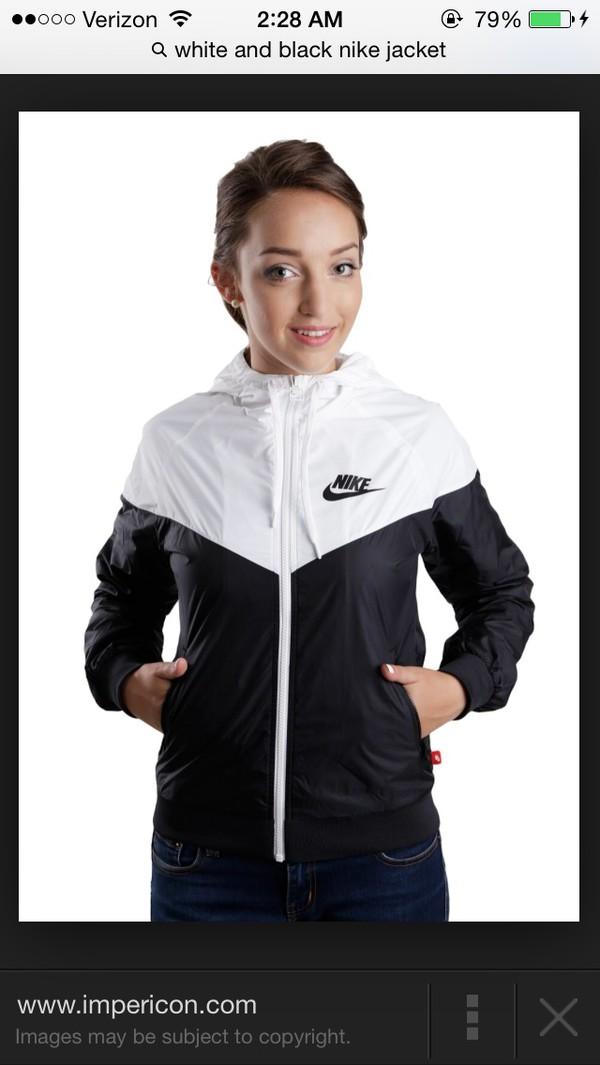 jacket nike sweater nike windbreaker black and white womens nike   wind runner jacket nike jacket black and white