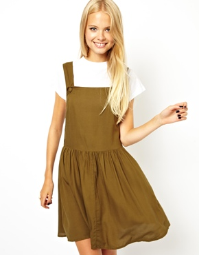 ASOS | ASOS Overall Skater Dress at ASOS