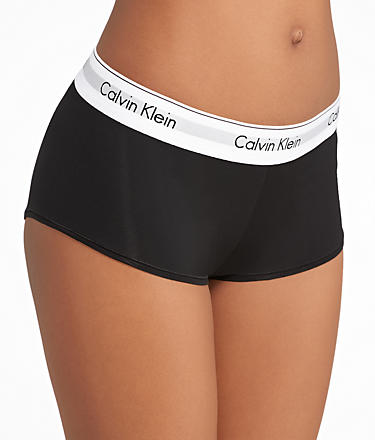 Calvin Klein Modern Cotton Boyshort Panty F3788 at BareNecessities.com