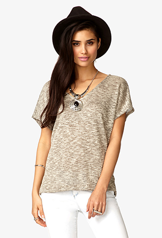 Marled Dolman Top | FOREVER21 - 2054543508