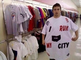 t-shirt tyler joseph celebrity singer menswear mens t-shirt white t-shirt