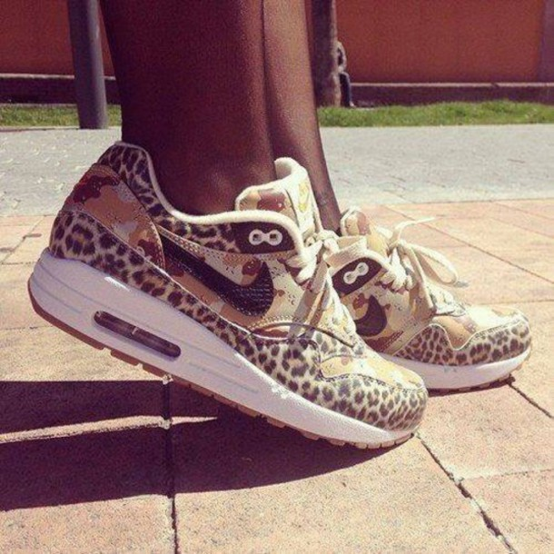 shoes leopard print nike air max
