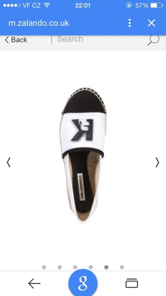 shoes white shoes karl lagerfeld