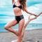Revel rey holstein bikini set - def leopard