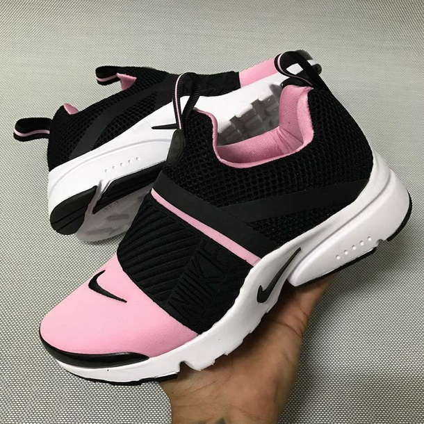 shoes nikes sneakers black pink nike shoes nike pretty shorts pastel pink  sneakers white pink and