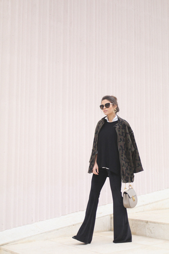 seams for a desire blogger coat sweater pants shoes jewels sunglasses