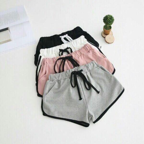 shorts pink shorts grey shorts black white shorts pink booty shorts sweat shorts short shorts booty shorts set pink booty shorts