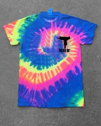 t-shirt tie dye shirt tie dye colorful