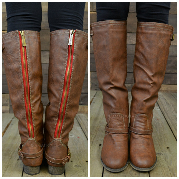Leather Riding Boots - Shop for Leather Riding Boots on Wheretoget