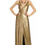 Clarice Gold Sequin Gown by Diane von Furstenberg at $185 | Rent The Runway