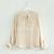 New Fashion Women's Top Sweet Blouse Long Sleeve Pocket Office Lady Shirt