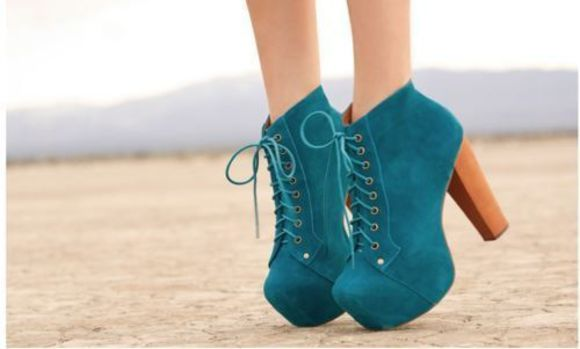 shoes high heels turquoise dark blue high high heels