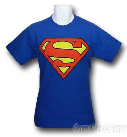 Superman Royal Blue T-Shirt