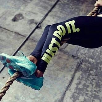 leggings sport legging nike just do it sportswear nike just do it athletic pantss fitniss drreamtaker post