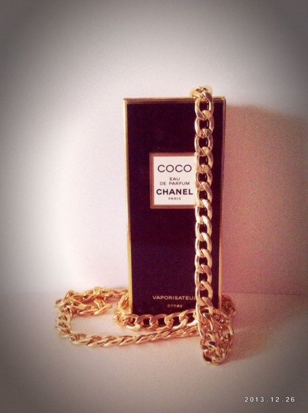 jewels gold chanel necklace