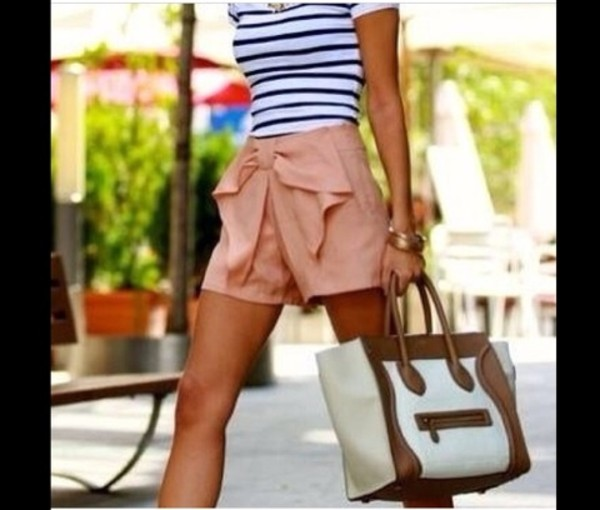shorts bow tie shorts