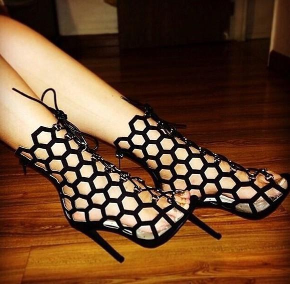 high heels heels cut out high heels