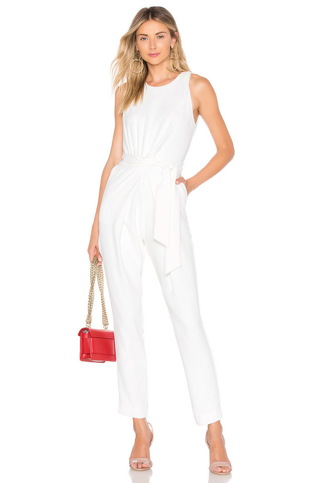 Chrissy Teigen x REVOLVE Josiah Jumpsuit in white