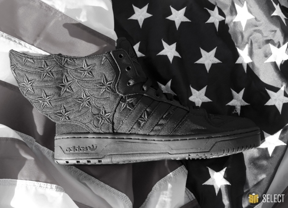 "A$AP Rocky x adidas Originals JS Wings 2.0 ""Black Flag"" - Release Reminder - SneakerNews.com"