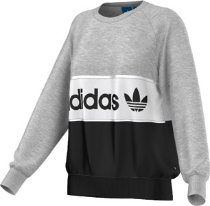 adidas black and white sweater