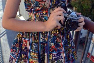 dress marvel comic nerd geek america captain america super hero jumpsuit