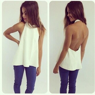t-shirt white dress white t-shirt white tee white sleeveless shirt white sleeveless top backless top backless dress white tank top cute tank tops selena white tank summer coat blouse white sleeveless backless tank top sexy loose white blouse charming party sleevelss white button up top