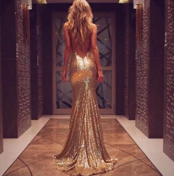 25628287637 dress gold gold dress prom dress prom open back open back dresses elegant  dress long dress