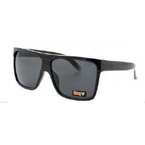 Quay 1473 Black Retro Square Frame Sunglasses