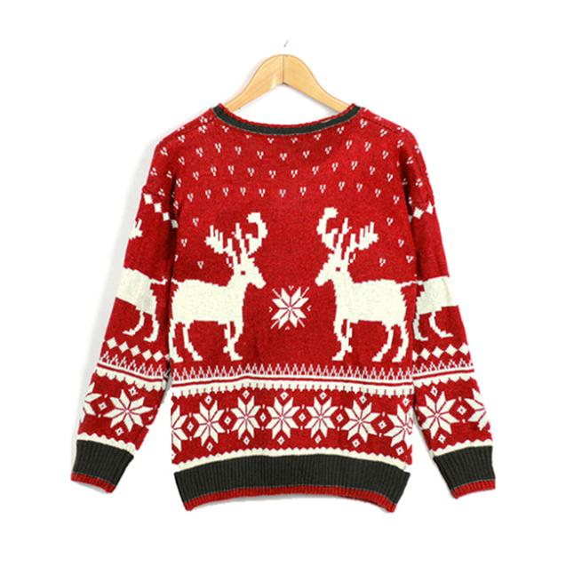 Aliexpress.com : buy women sweater lady spring o neck animals printed pullovers 2014 new fashion lady loose shirt the deer sweater leisure clothes from reliable sweater razor suppliers on dola's wardrobe