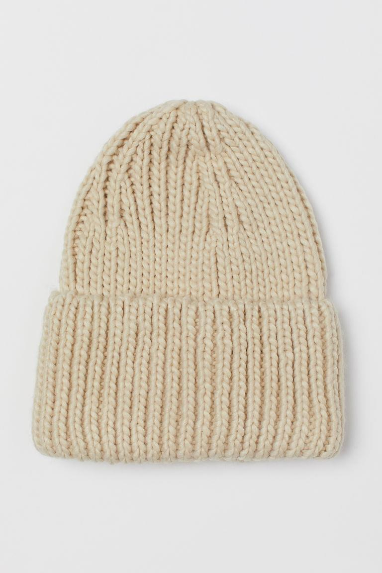 Chunky-knit Hat