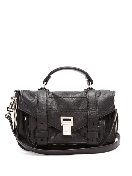 Proenza Schouler cross bag leather black