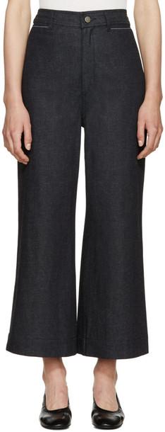 Proenza Schouler Indigo Wide-leg Jeans