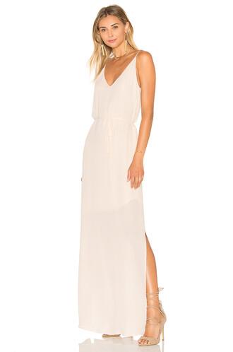 gown blush dress