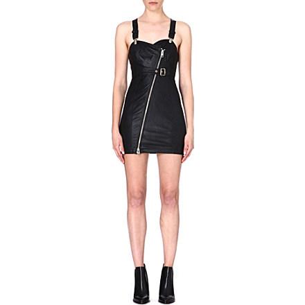 DIESEL - Raka leather dress | Selfridges.com