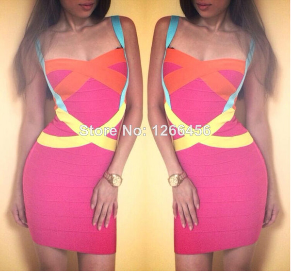 dress bodycon dress party dress women 2014 bandage dress women new bandage dress 2014