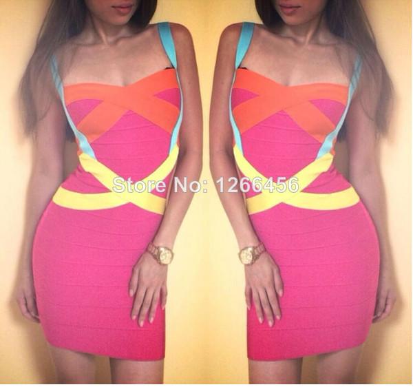 dress bodycon dress party dress women 2014 bandage dress women new bandage dress 2014