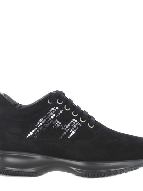 Hogan Interactive Sneakers in nero