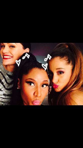 lipstick jessie j nicki manaj ariana grande selfie nail polish