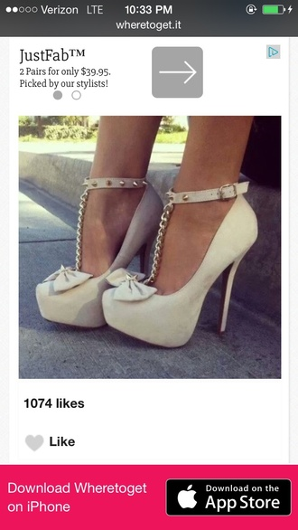 shoes bow tie heels with ankle strap chain bow heels