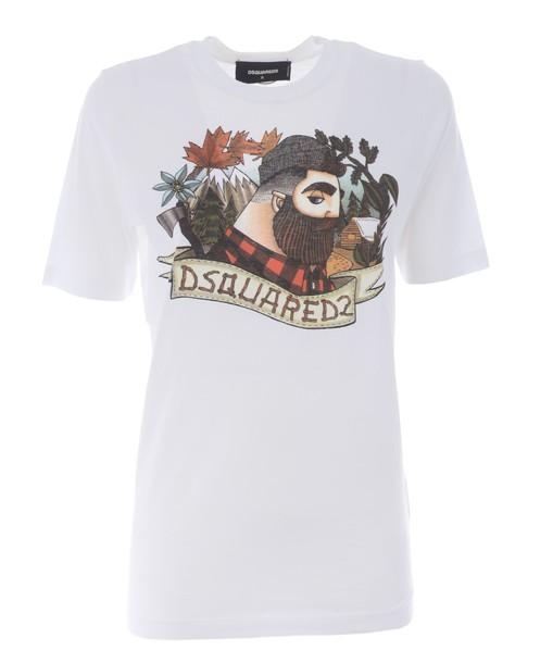 Dsquared2 t-shirt shirt t-shirt print top