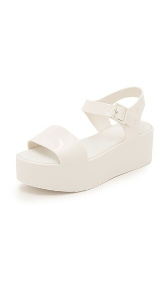 sandals flatform sandals white shoes