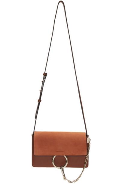 Chloé Brown Small Faye Bag