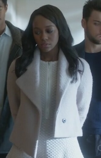 coat white aja naomi king how to get away with murder michaela pratt