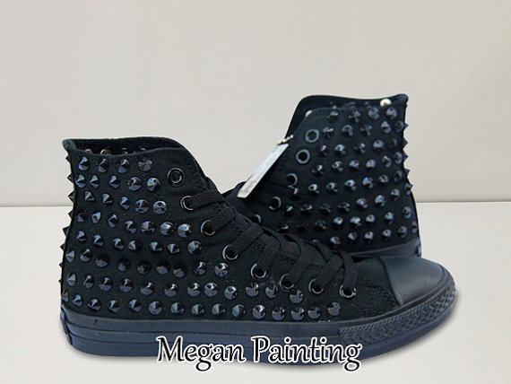 Rivet Converse Shoes Hand Paint Converse Sneakers Custom