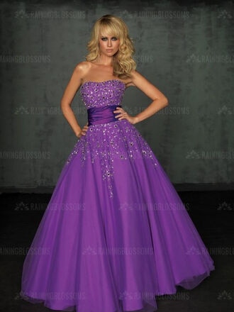 dress party dress ball gown prom dresses purple dress purple prom dresses formal party dresses