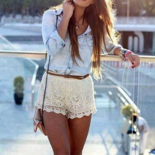 shorts blouse www.ebonylace.storenvy.com