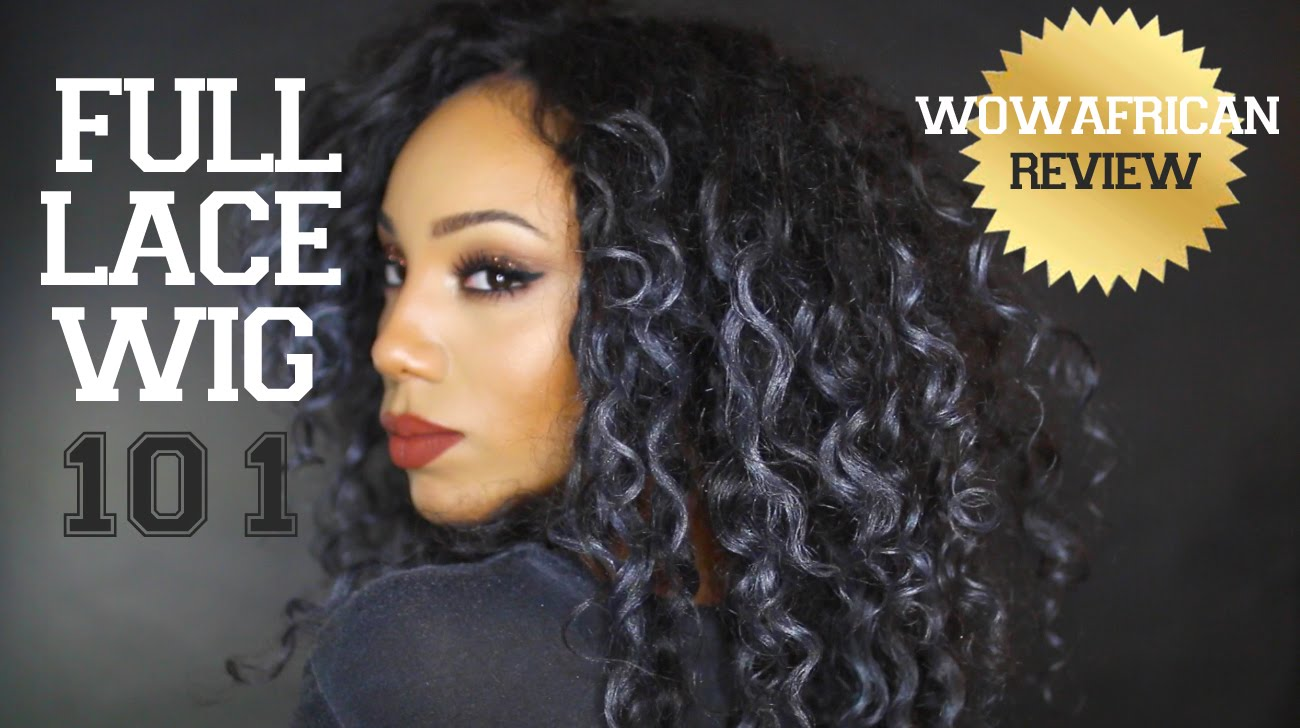 How to make a lace front wig look natural & wowafrican wig review